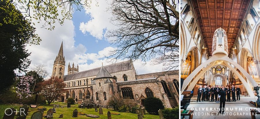 Llandaf Cathedral Wedding Photograph