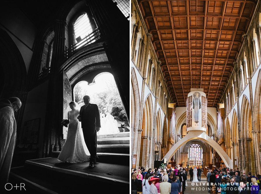 Llandaff Cathedral Wedding Photograph
