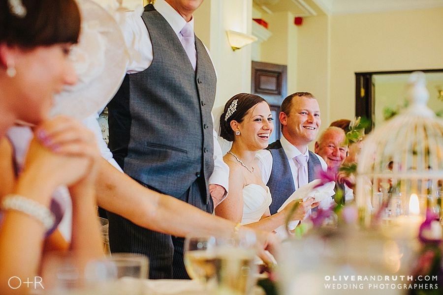 Llansantffraed Court wedding speeches