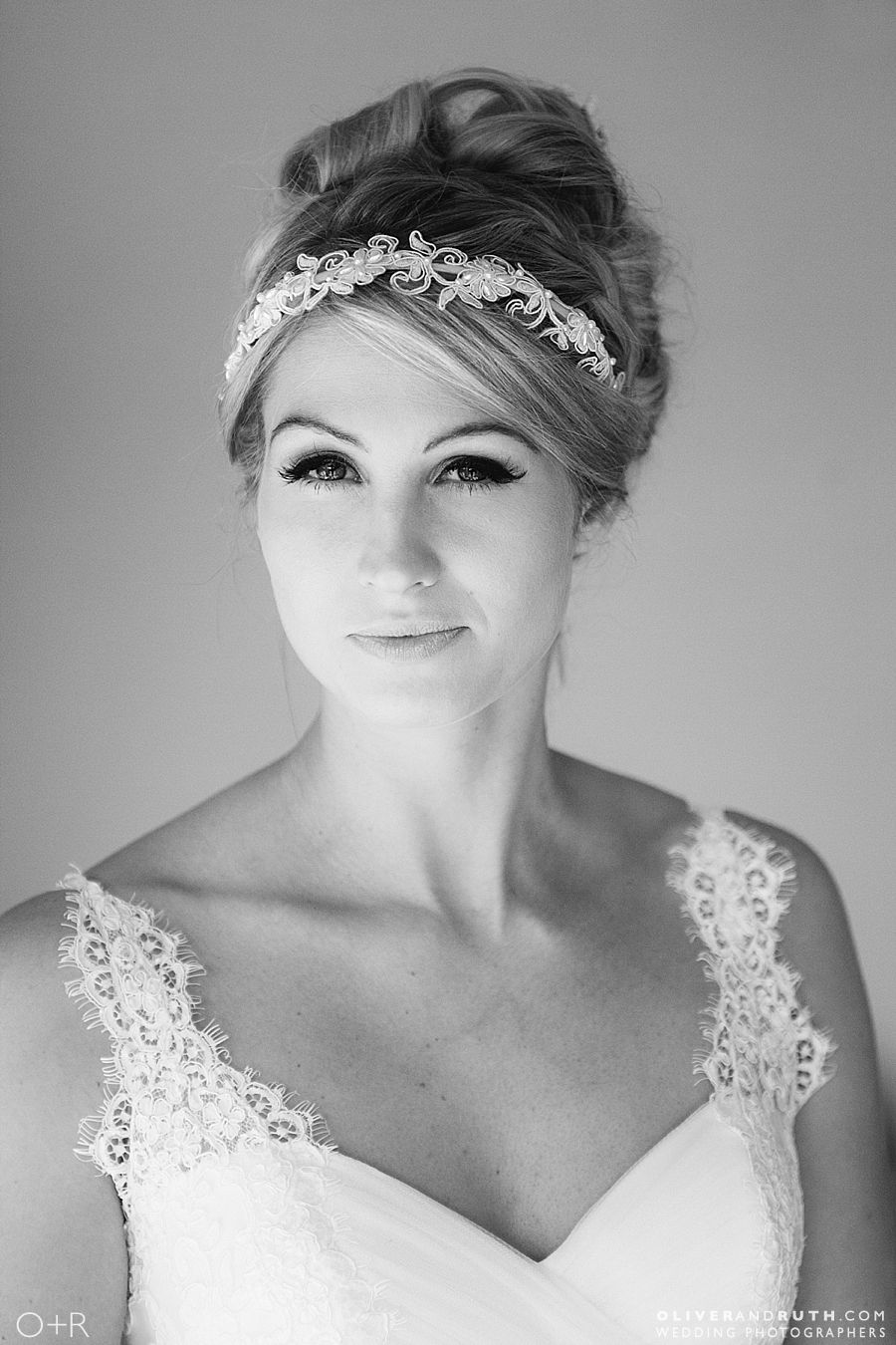 Bride photographed in North Wales