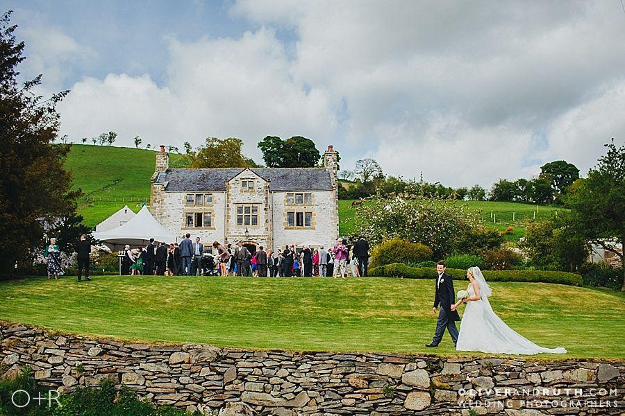 Farm wedding in Llangollen, North Wales