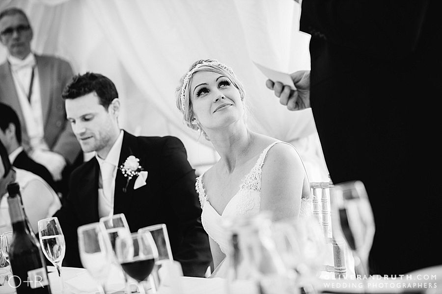 Marquee wedding in Llangollen, North Wales