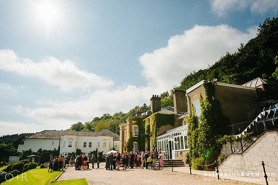 The New House Country Hotel wedding reception