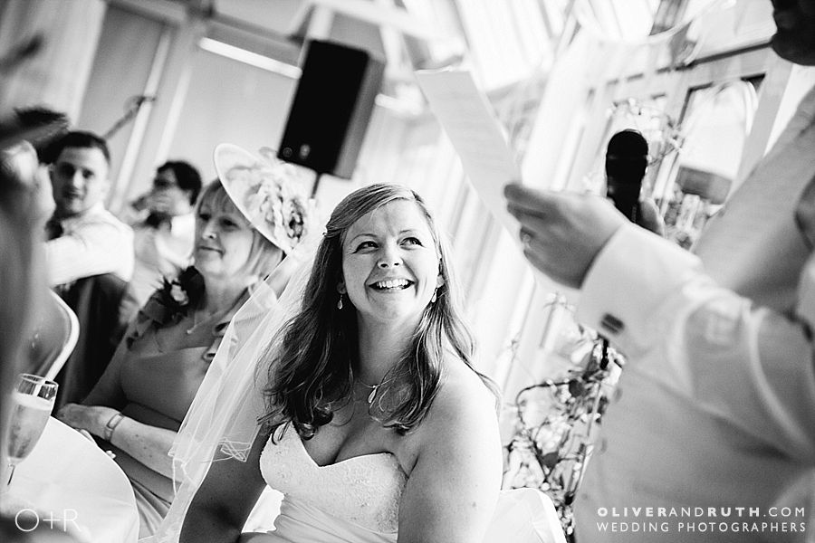 Wedding speeches at The New House Country Hotel
