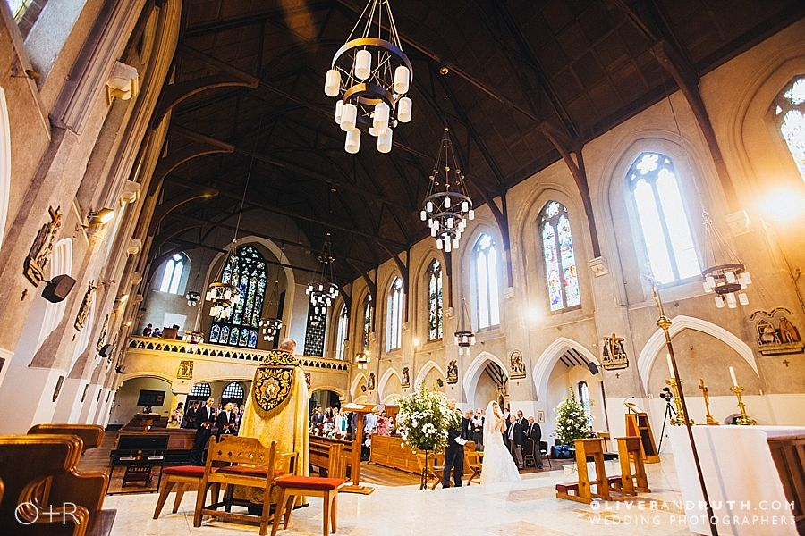 Wedding at the Cardiff Metropolitan Cathedral of St. David