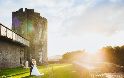 Caerphilly Castle Wedding Photography