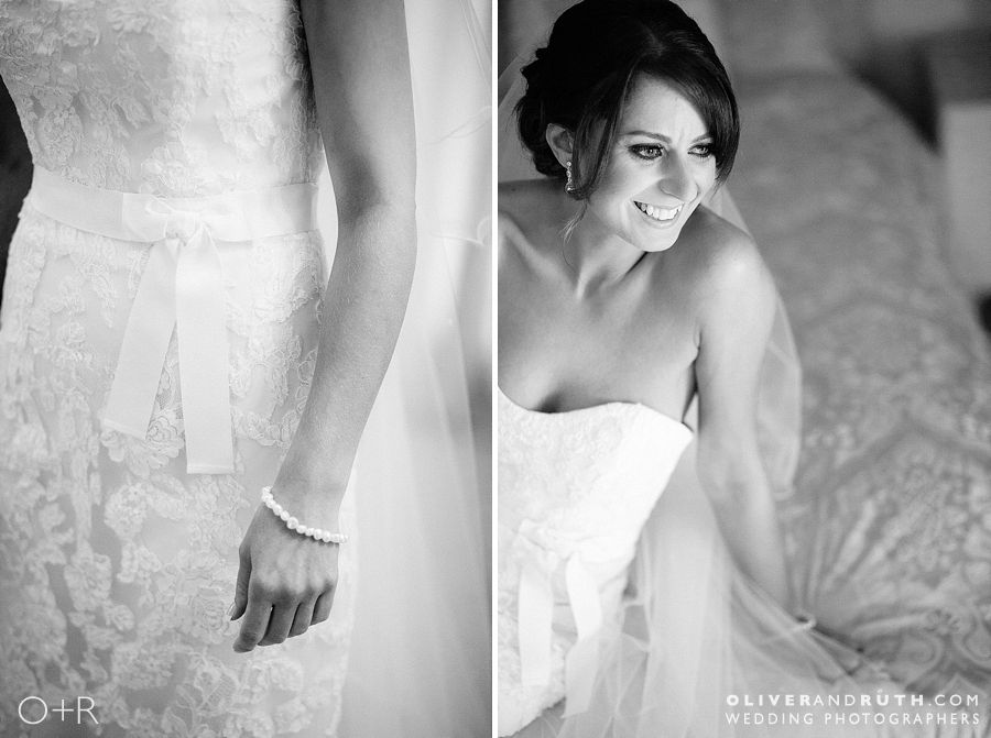 Bride at Pencoed House