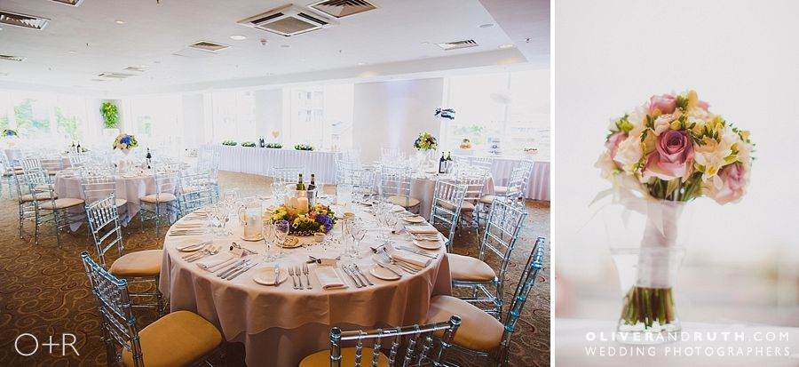 The St. David's hotel wedding room