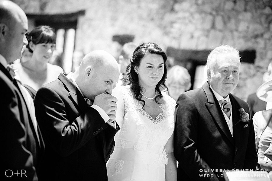 Wedding Ceremony at Pencoed House