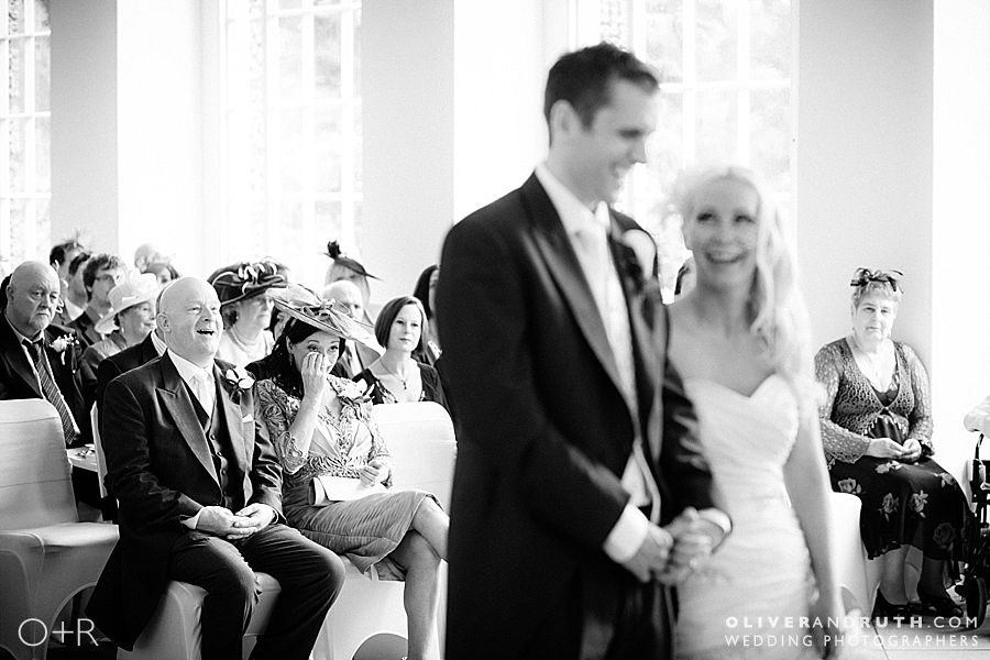 Margam Orangery wedding ceremony