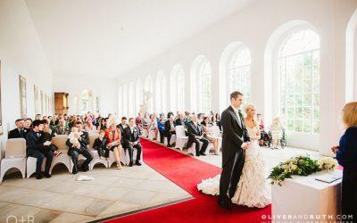 Margam Orangery Wedding Photographs