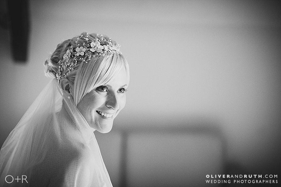 Bride portrait at Pencoed House