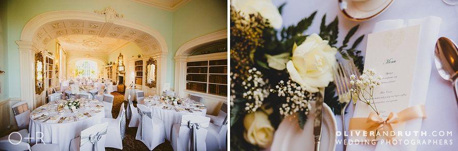 Wedding room at Fonmon Castle
