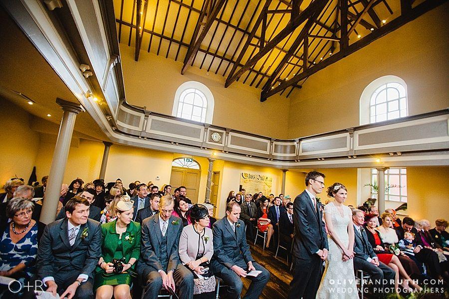 Wedding ceremony at The Cawdor