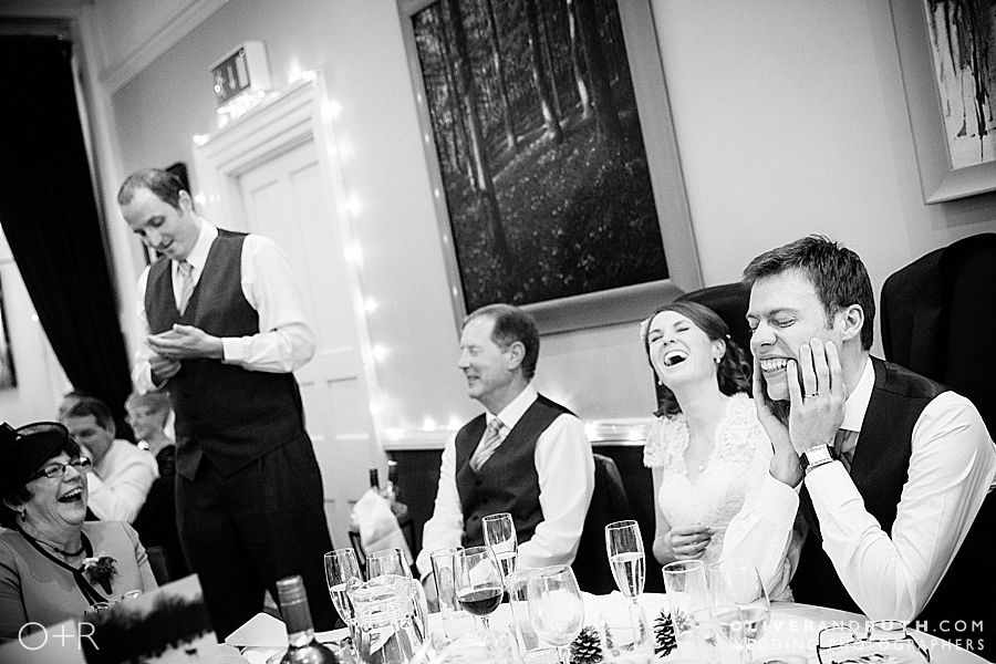 Best man's speech at The Cawdor