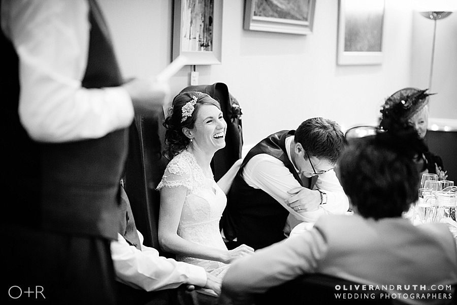The Cawdor wedding speeches