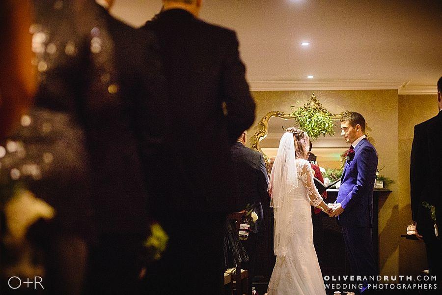 The Grove wedding ceremony