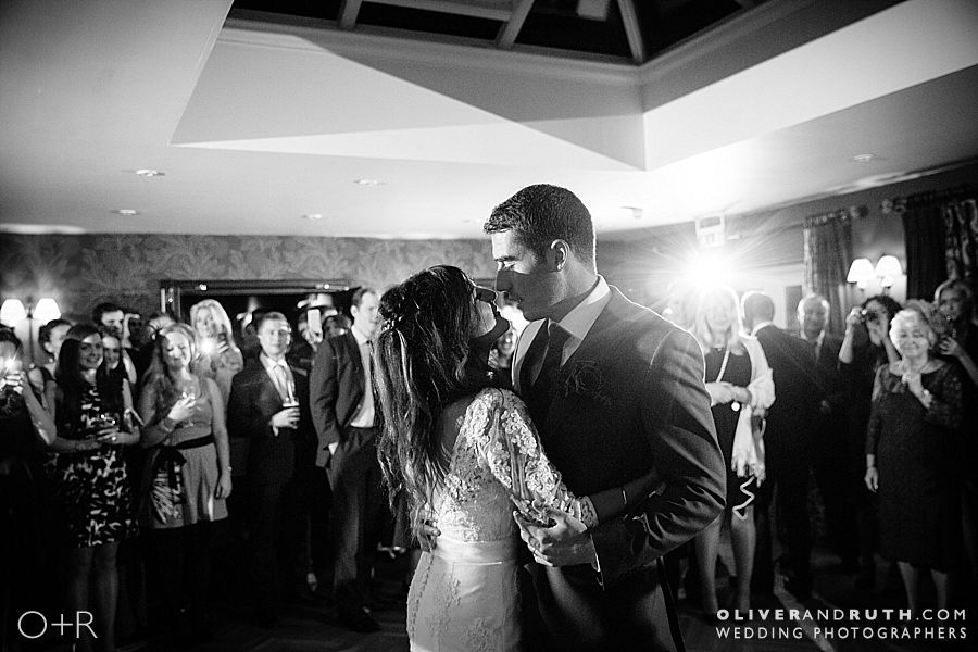 First dance at The Grove
