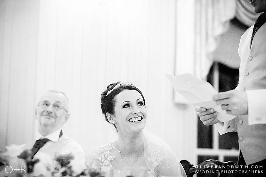Groom's speech at wedding in De Courcey's Manor