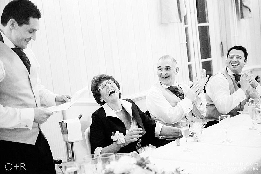 Wedding at De Courcey's Manor - best man's speech