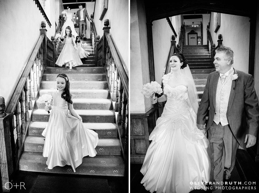 Miskin Manor staircase