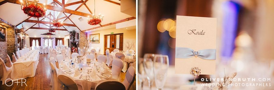 Miskin Manor wedding room