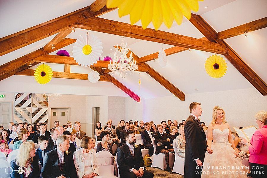 Civil wedding ceremony at The Coedy-Y-Mwtswr
