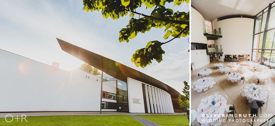 The Royal Welsh College of Music and Drama wedding room layout