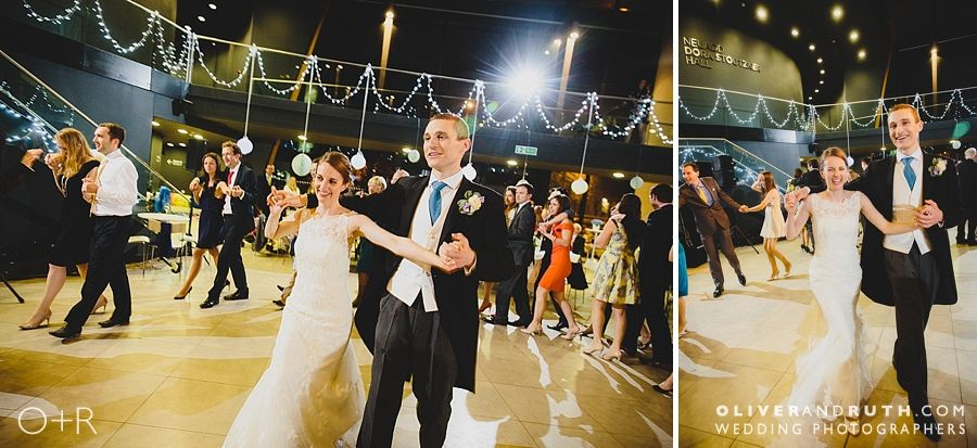 Wedding dancing at The Royal Welsh College of Music and Drama