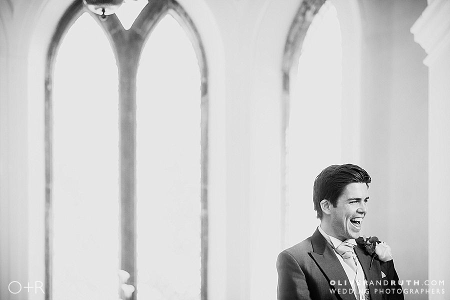 Groom portrait at Clearwell Castle