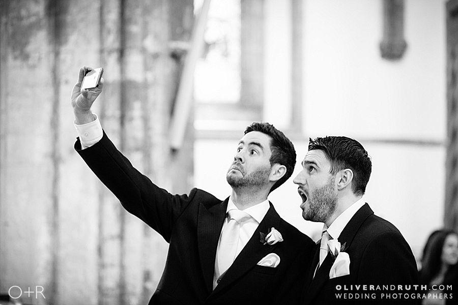 Selfie at Llandaff Cathedral