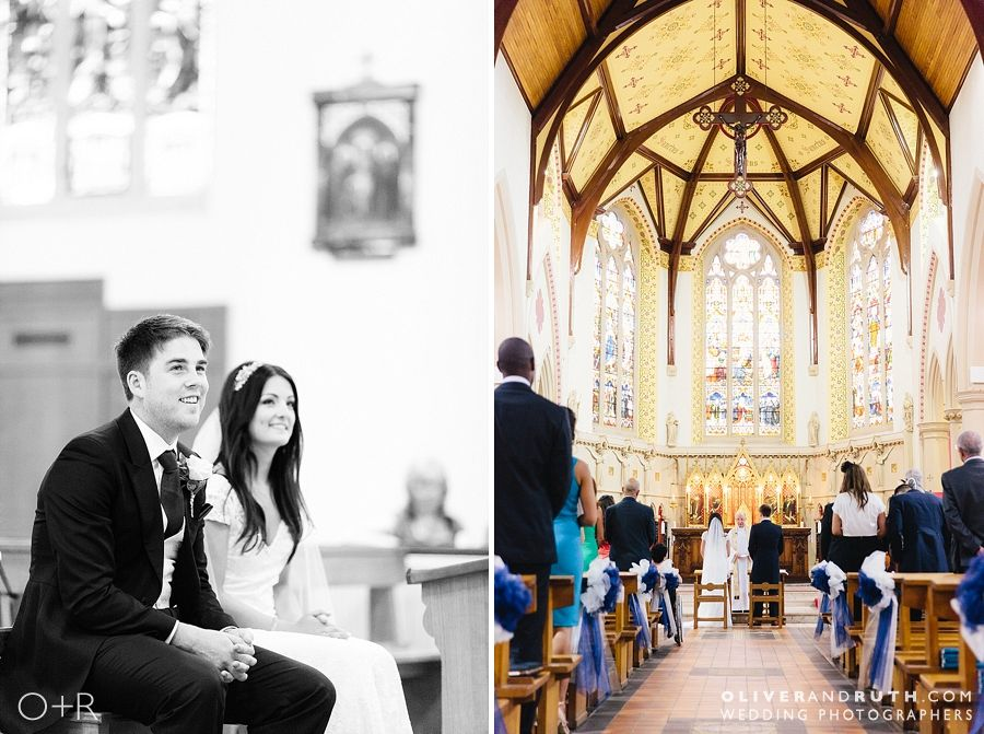 Wedding at St Peters Church, Cardiff