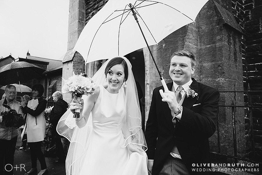 Wedding Photographs at St. Donat's Castle