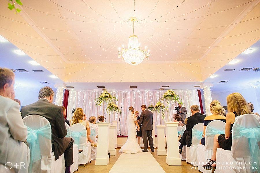 Cwrt Bleddyn wedding ceremony room