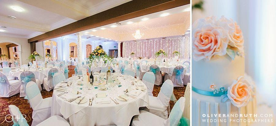 Cwrt Bleddyn wedding room layout