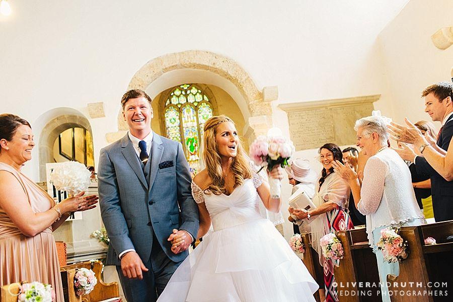 St Donats church wedding