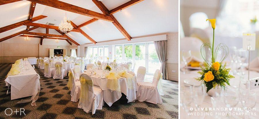 Coed-Y-Mwstwr wedding room layout
