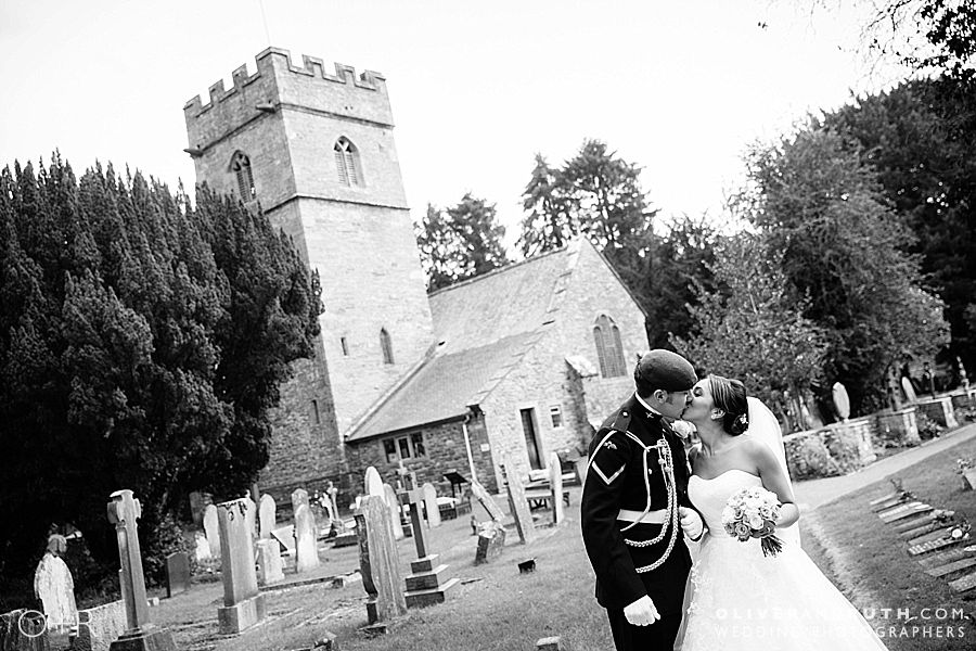 Llansantffraed Court Wedding Photographs