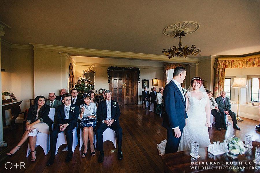 Llangoed Hall wedding ceremony