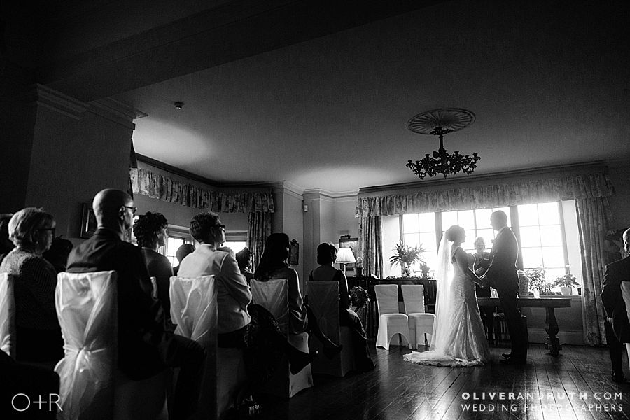 Llangoed Hall civil wedding ceremony