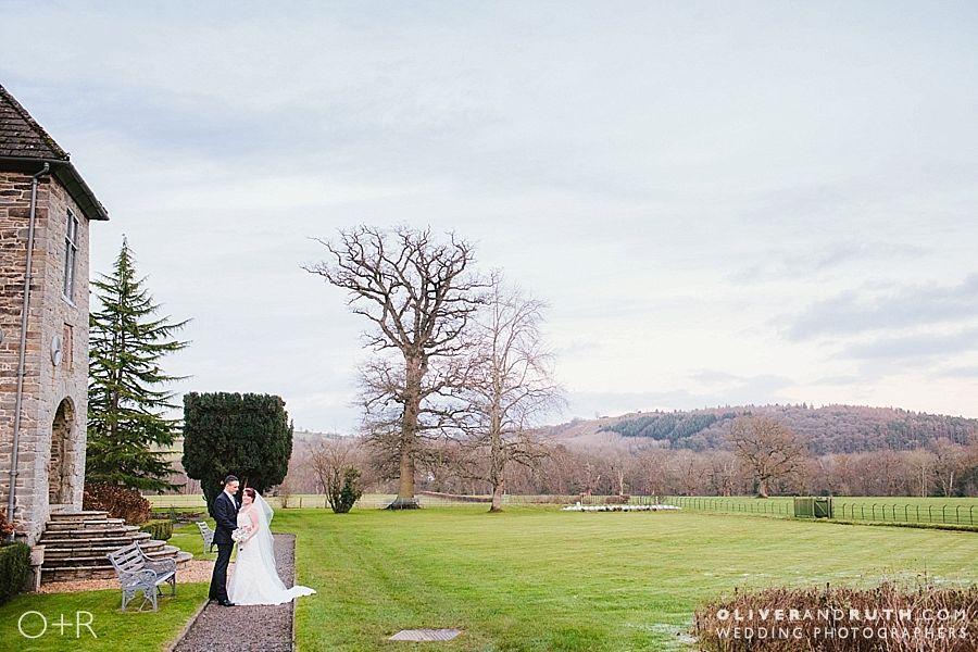 Winter Wedding At Llangoed Hall