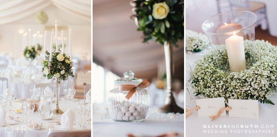 Celtic Manor wedding table details