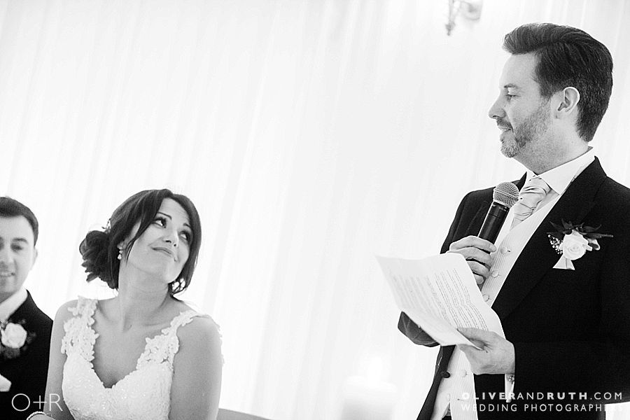 Dad's wedding speech at the Celtic Manor