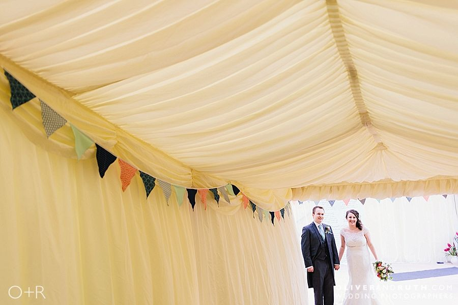 Marquee Wedding, North Wales