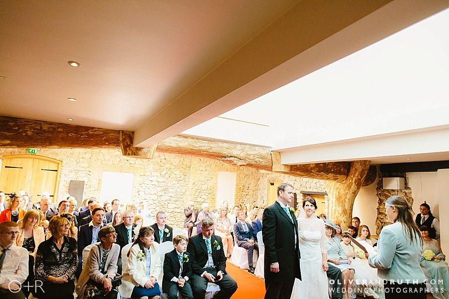 Oxwich Bay Hotel wedding ceremony room