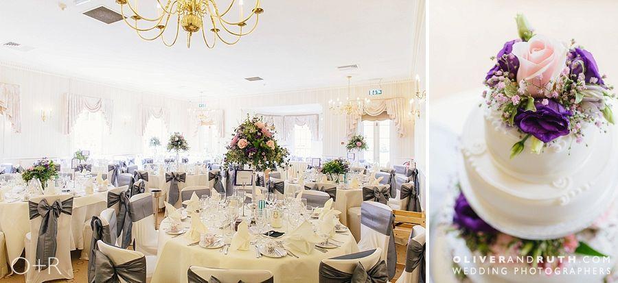 De Courceys Manor wedding room layout