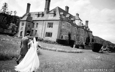 Wedding Photographs at Llangoed Hall