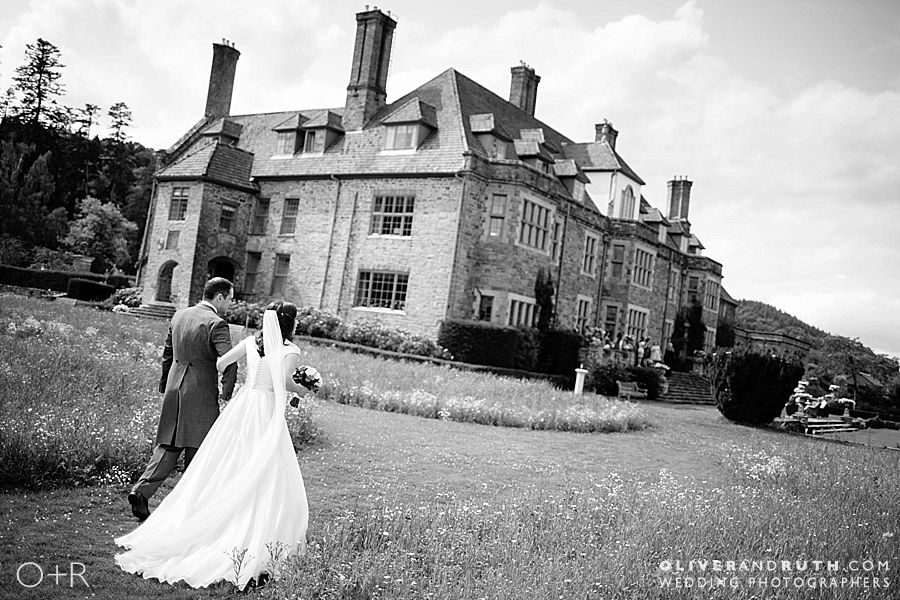 Wedding Photographs at Llangoed Hall