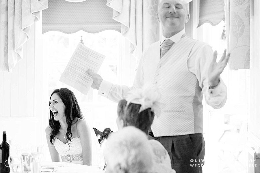 Dad's wedding speech De Courceys