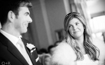 Llangoed Hall Winter Wedding
